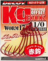 Крючок Decoy Worm 17R Kg Hook R