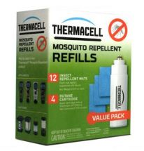 Картридж Thermacell Mosquito Repellent Refills (12 пластин, 4 баллона)