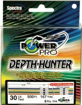 Шнур PowerPro Depth Hunter Multicolor 0.19mm