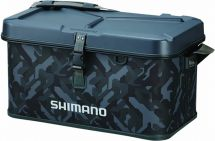 Сумка Shimano Hard EVA Tackle Boat Bag Wave Camou