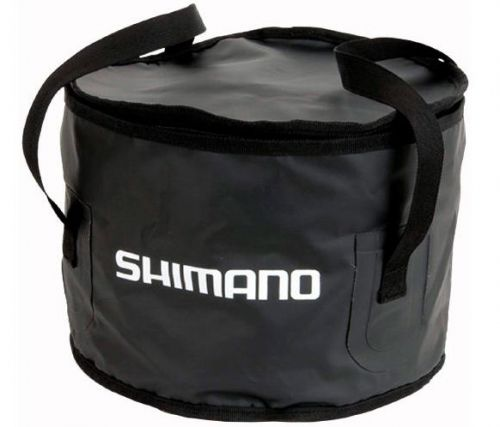 Ведро Shimano Groundbait Bowl 20x32cm Black - недорого | CarpZander