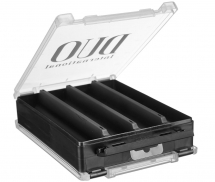 Коробка DUO Reversible Lure Case 180 Pearl Black/Clear (145 x 205 x 50mm)