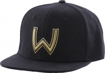 Бейсболка Westin W Viking Helmet One size Black/Gold