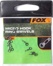 Вертлюжки Fox Micro Hook Ring Swivels