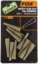 Конус Fox Edges Size 7 Lead Clips Tail Rubbers Khaki