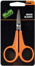 Ножницы Fox Edges Micro Scissors Orange