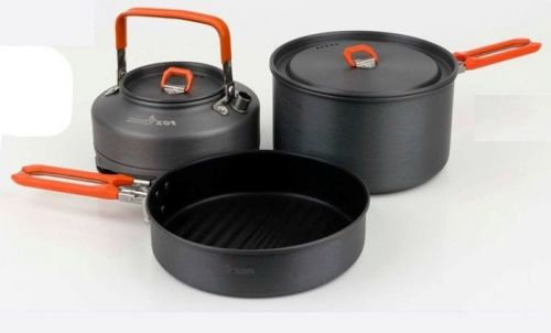 Купить Набор посуды Fox Cookware Large 3pc Set ― Carp Zander