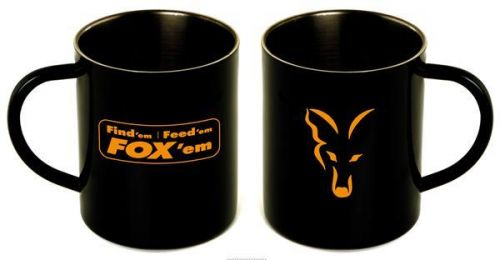 Кружка Fox Stainless Black XL 400ml Mug FFF