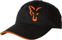 Бейсболка Fox Black/Orange Baseball Cap