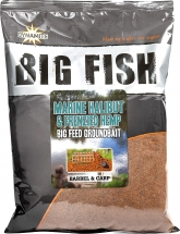 Прикормка Dynamite Baits Marine Halibut & Hemp Groundbait - 1,8kg