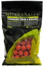 Бойлы Nutrabaits Ea Strawberry Cream & Bergamot 20mm 400g