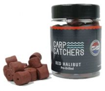 Пеллетс насадочный Carp Catchers Red Halibut Hook Pre-Drilled 150g