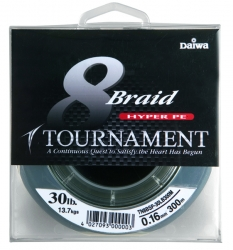 Шнур Daiwa Tournament 8xBraid 135m