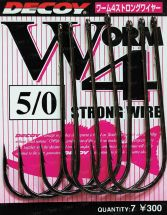 Крючок Decoy Worm 4 Strong Wire