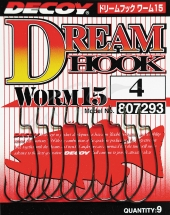 Крючок Decoy Worm 15 Dream Hook