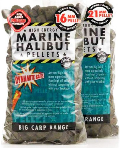 Пеллетс Dynamite Baits Pre-Drilled Pellets Marine Halibut 900g - недорого | CarpZander