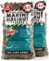 Пеллетс Dynamite Baits Pre-Drilled Pellets Marine Halibut 900g