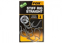 Крючки Fox Edges Armapoint Stiff Rig Straight