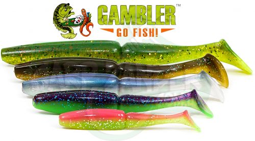 Силикон Gambler EZ Swimbaits - купить | CarpZander