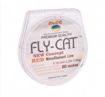 Леска Ntec FlyCat Red 50m
