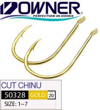 Крючки Owner 50328 Cut Chinu Gold