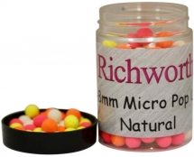 Бойлы плавающие Richworth Micro Pop-Ups 6-8mm 100ml