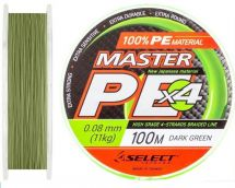Шнур Select Master PE Dark Green 100/150m