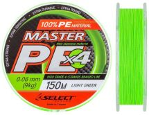 Шнур Select Master PE Light Green 150m
