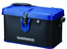Сумка Shimano Hard Tackle Boat Bag Black Blue