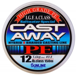 Шнур Sunline Super Cast Away PE 150m