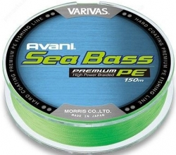 Шнур Varivas New Avani Sea Bass Premium PE Green 150m
