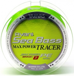 Шнур Varivas New Avani Sea Bass Tracer Max Power PE 150m