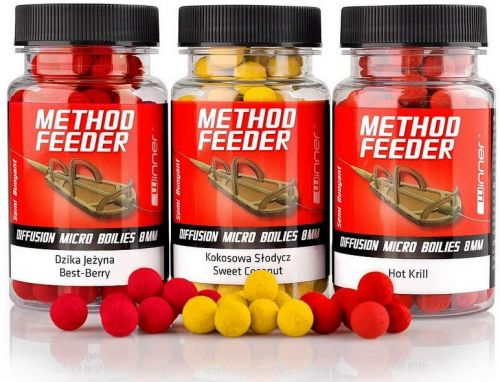 Бойлы Winner Method Feeder Diffusion Pop-Up Micro Boilies 8mm 40g - недорого | CarpZander