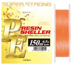 Шнур Yamatoyo PE Resin Sheller Orange 150m