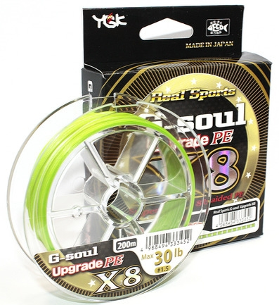 Шнур YGK Real Sports G-Soul x8 Upgrade - недорого | CarpZander