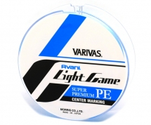Шнур Varivas Light Game PE X4 Centermarking