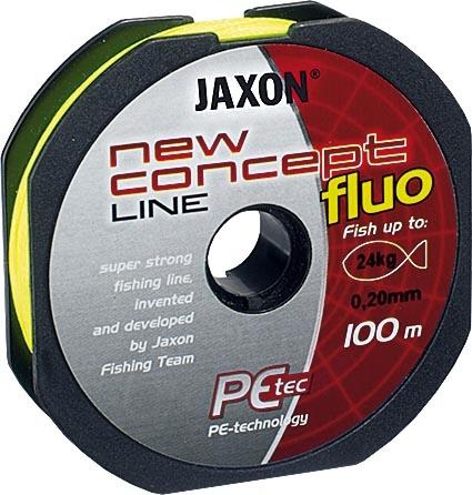 Шнур Jaxon New Concept Line Yellow (Fluo) 100m - недорого   CarpZander