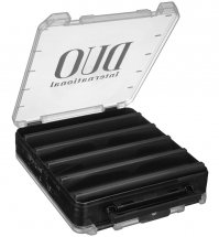 Коробка DUO Reversible Lure Case 160 Pearl Black/Clear (206 x 170 x 44mm)