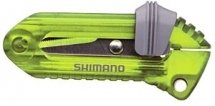 SHIMANO LINE CUTTER SCISSORS CT-018H SLIDE RETRACTABLE GREEN