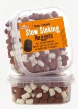 Пеллетс Dynamite Baits White/Brown Fishmeal Slow Sinking Nuggets