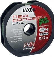 Шнур Jaxon New Concept Line Dark Green 100m