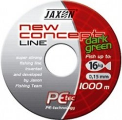 Шнур Jaxon New Concept Line Dark Green 1000m